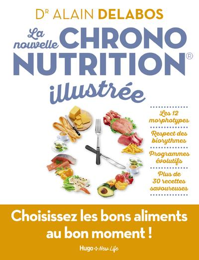 LA NOUVELLE CHRONONUTRITION ILLUSTREE DELABOS ALAIN HUGO JEUNESSE